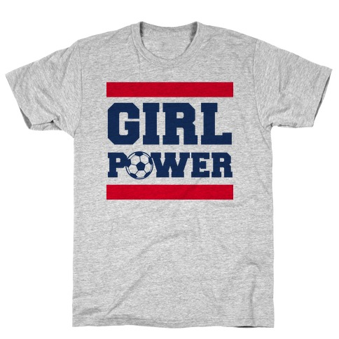 Girl Power (Soccer) T-Shirt