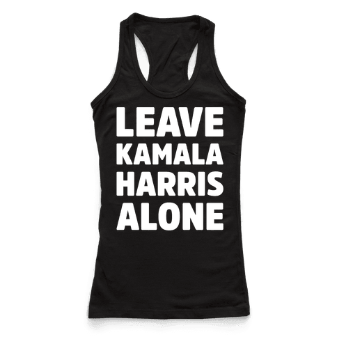 Leave Kamala Harris Alone White Print