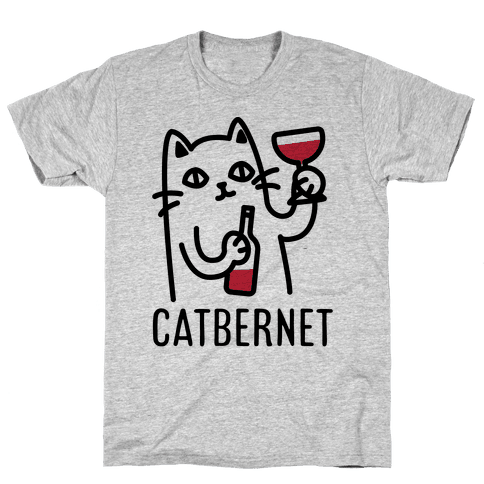 Catbernet Mens T-Shirt