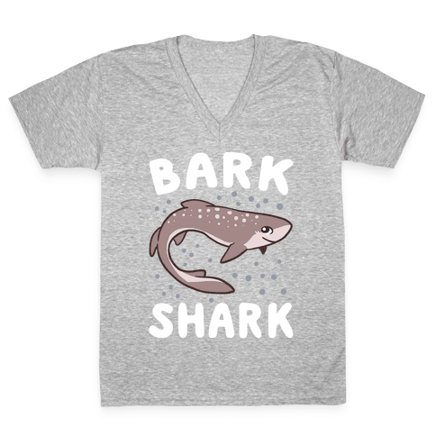 Bark Shark - Dogfish V-Neck Tee Shirt
