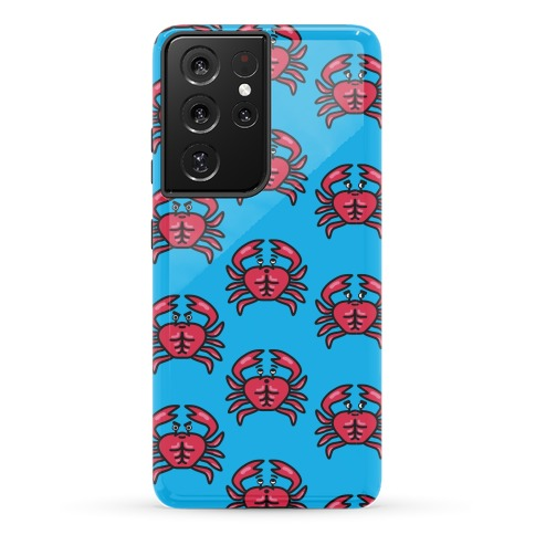 Crabs with Abs Pattern Phone Case