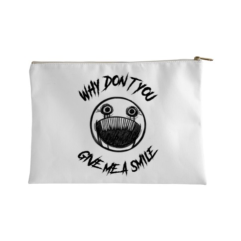 Why Don't You Give Me a Smile Accessory Bag
