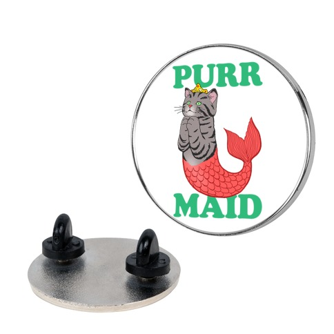 Purr Maid pin