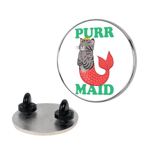 Purr Maid pin