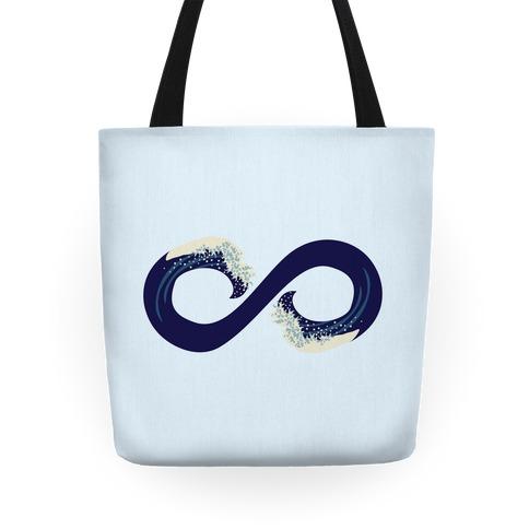 Ocean Infinity (Dark Blue) Tote