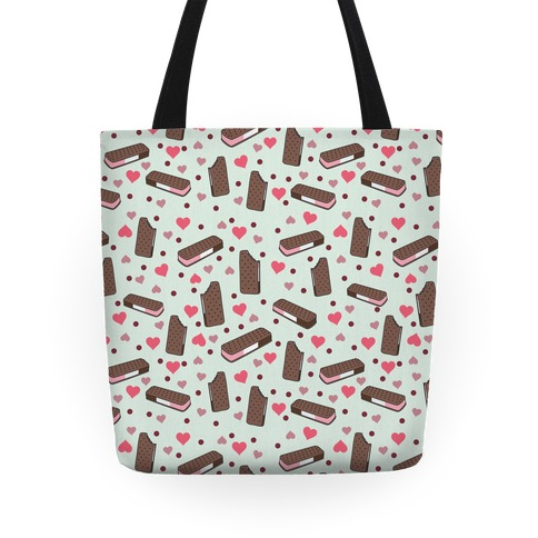 Neapolitan Ice Cream Sandwich Pattern Tote