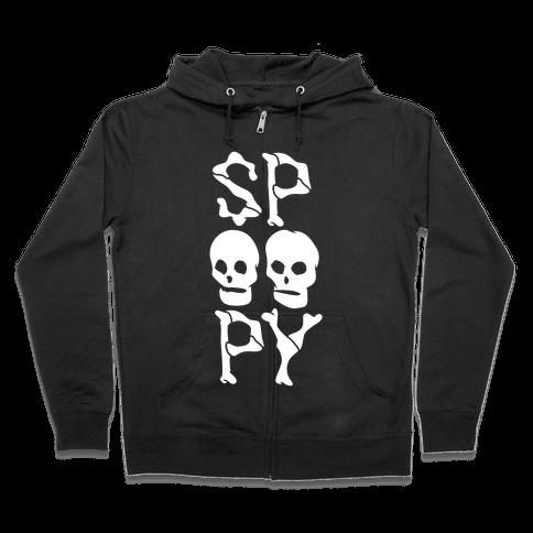 Spoopy Zip Hoodie