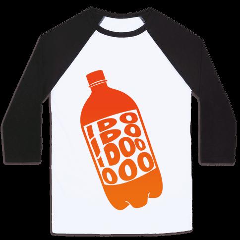 Who Loves Orange Soda (Half 2) Baseball Tee
