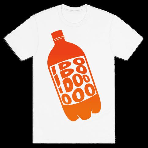 Who Loves Orange Soda (Half 2) Mens T-Shirt