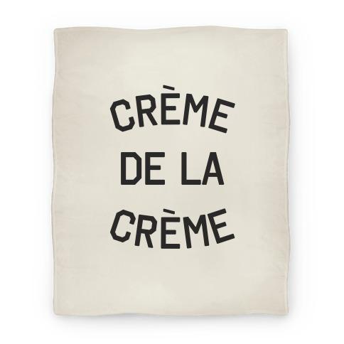 Creme De La Creme Blanket