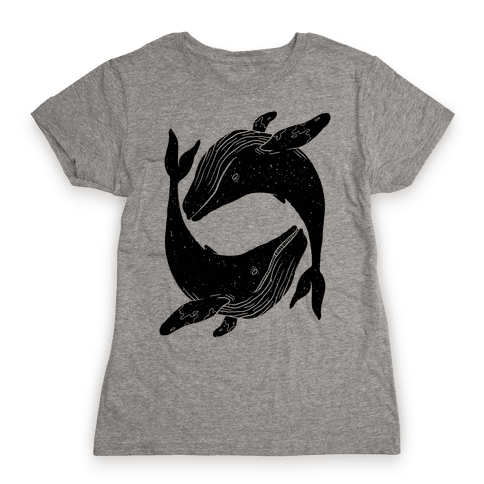 The Circle of Whales Womens T-Shirt