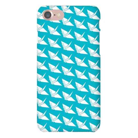 Origami Crane Pattern Phone Case