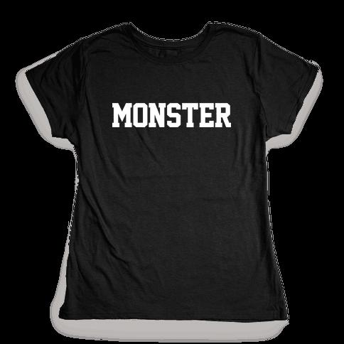 MONSTERS Womens T-Shirt