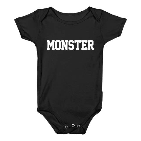 MONSTERS Baby Onesy