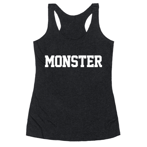 MONSTERS Racerback Tank Top