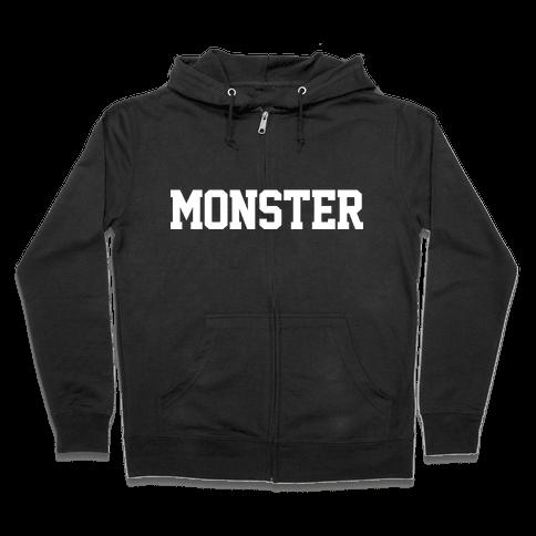 MONSTERS Zip Hoodie