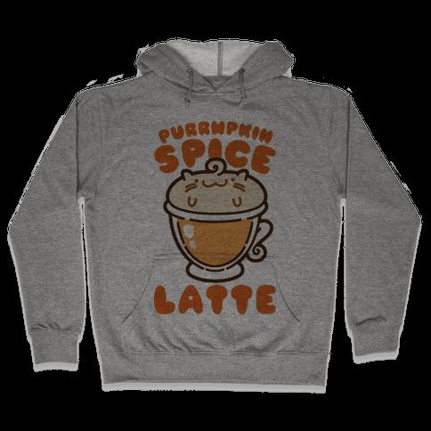 Purrmpkin Spice Latte Hooded Sweatshirt