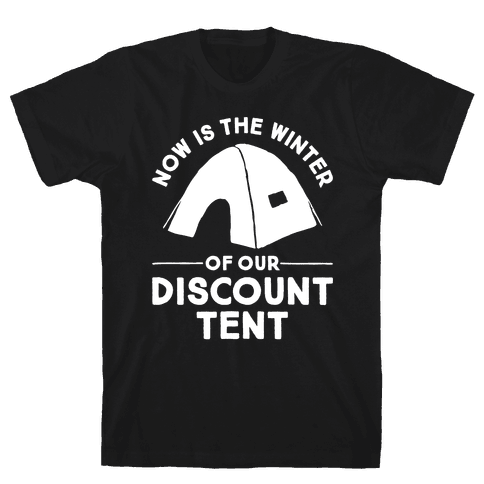 Discount Tent Mens T-Shirt