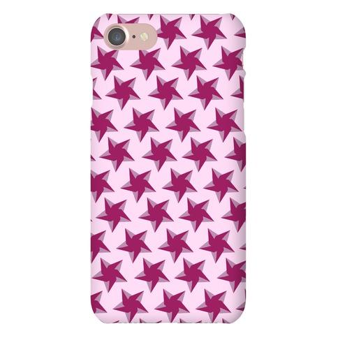 Pink Star Pattern Phone Case