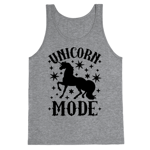 Unicorn Mode Tank Top
