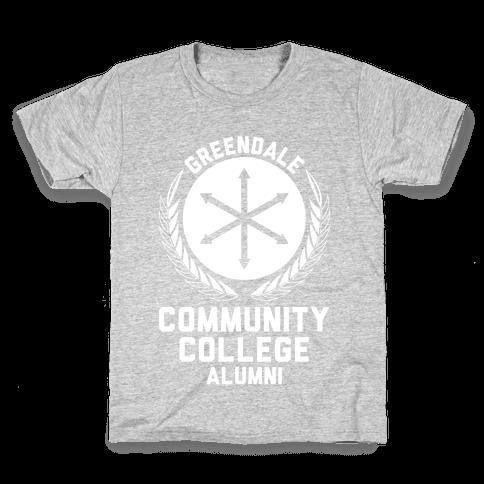 Greendale Community College Alumni Kids T-Shirt