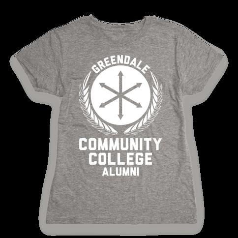 Greendale Community College Alumni Womens T-Shirt