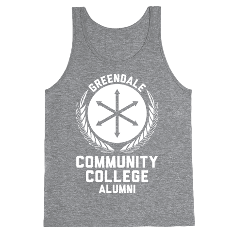 Greendale Community College Alumni Tank Top