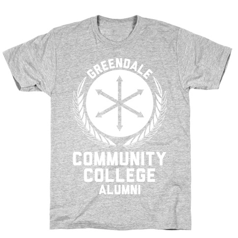 Greendale Community College Alumni Mens T-Shirt