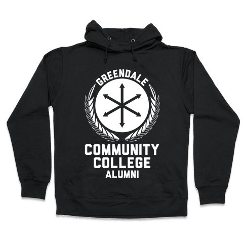 Greendale Community College Alumni Hooded Sweatshirt