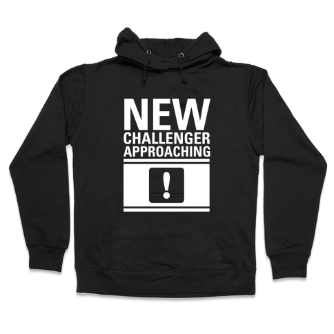 New Challenger Approaching Hooded Sweatshirt