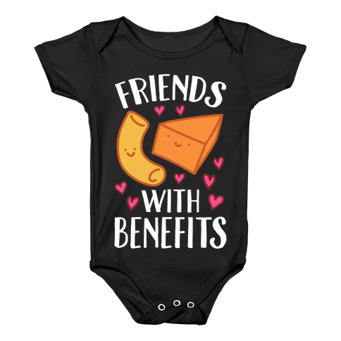 Friends With Benefits Baby Onesy