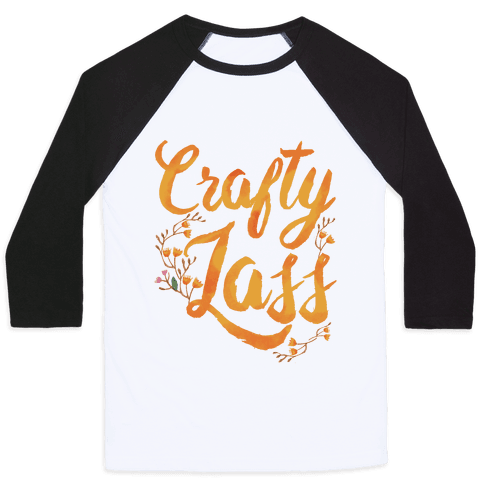 Crafty Lass Baseball Tee