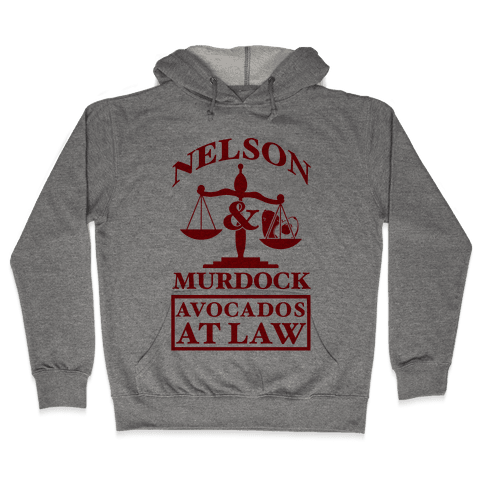Nelson & Murdock Avocados At Law Hooded Sweatshirt
