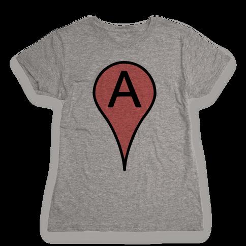 Point A Womens T-Shirt