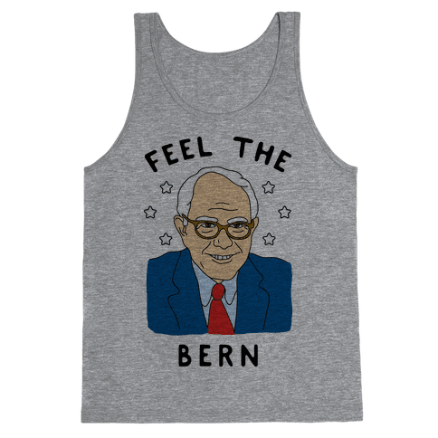 Feel The Bern Tank Top