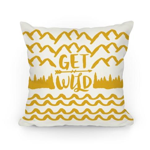 Get Wild Pillow