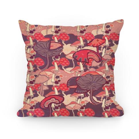 Mushroom pattern Pillow