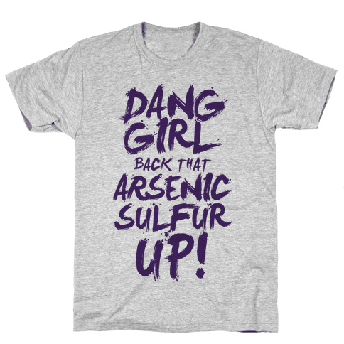 Dang Girl Back That AsS Up! Mens T-Shirt
