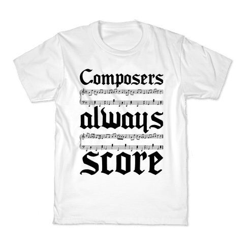 Composers Kids T-Shirt