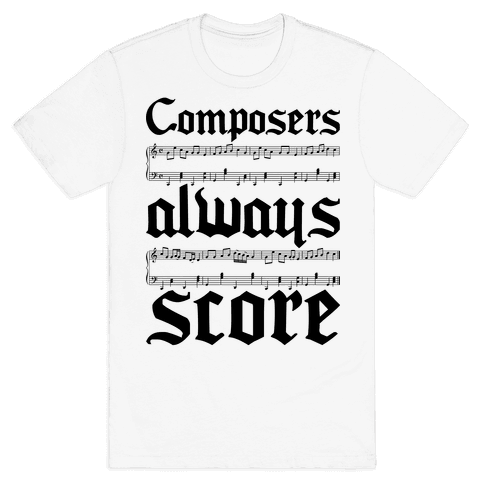 Composers Mens T-Shirt