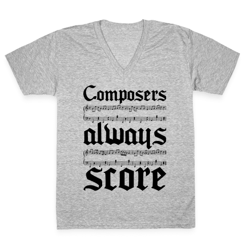 Composers V-Neck Tee Shirt