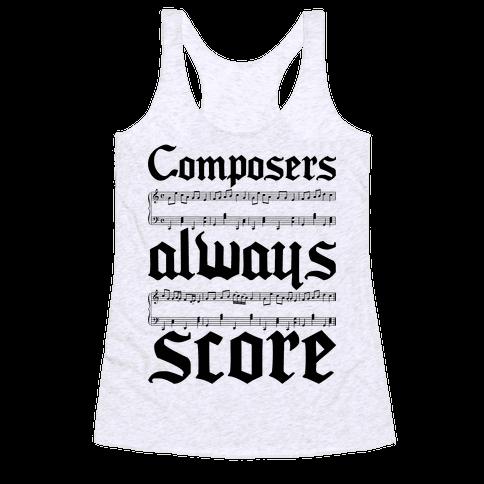 Composers Racerback Tank Top