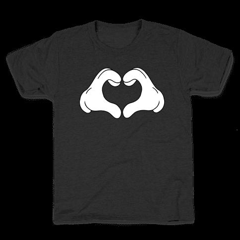 Heart Hands Kids T-Shirt