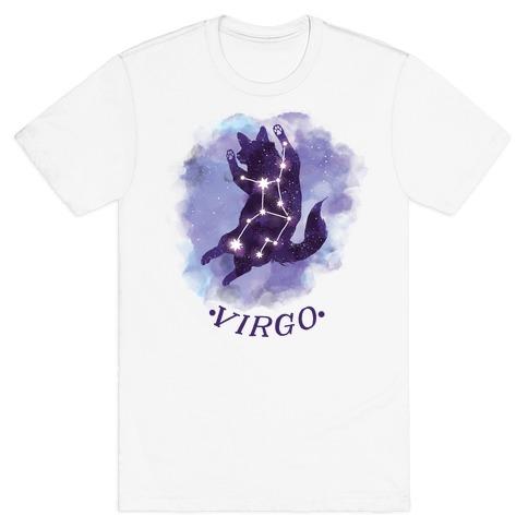 Cat Zodiac: Virgo Mens T-Shirt