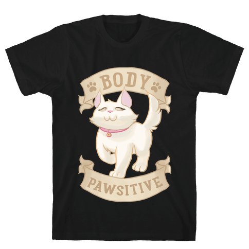Body Pawsitive Mens T-Shirt