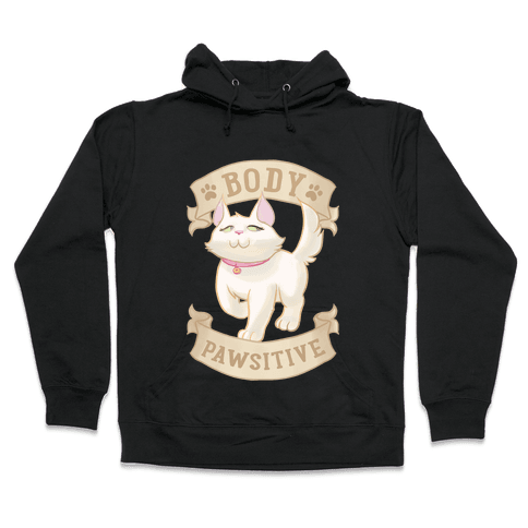 Body Pawsitive Hooded Sweatshirt