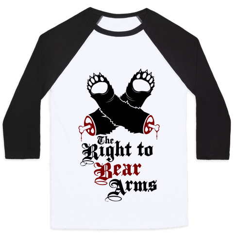 Right To Bear Arms Baseball Tee