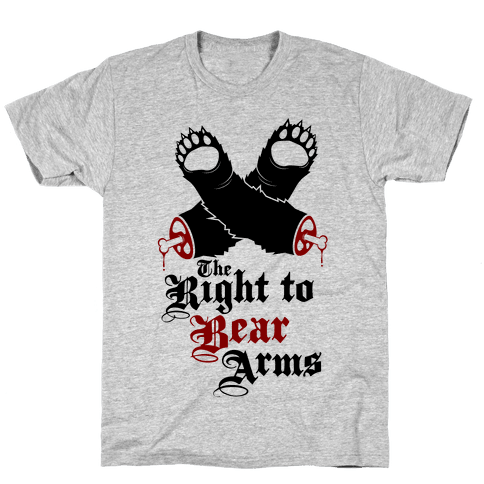 Right To Bear Arms Mens T-Shirt