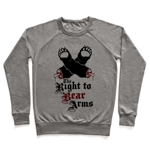 Right To Bear Arms Pullover