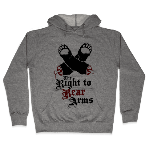 Right To Bear Arms Hooded Sweatshirt